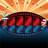 Cinema theme — Stock Vector