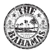 The Bahamas grunge rubber stamp — Stock Vector