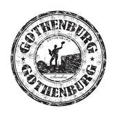 Gothenburg grunge rubber stamp — Stock Vector
