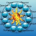 Horoscope symbols — Stock Vector