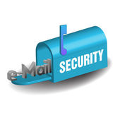 Email security — Stock Vector