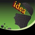 Idea — Stock Vector