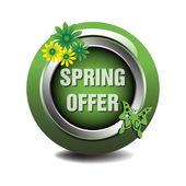 Oferta de primavera — Vetor de Stock