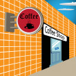 Coffee shop — Stock Vector