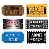 Cinema tickets — Vector de stock