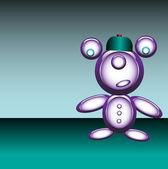 Funny robot — Stock Vector