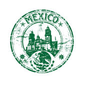 Mexico grunge rubber stamp — Stock Vector
