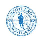 Scotland grunge rubber stamp — Stock Vector