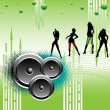 Party girls — Imagen vectorial