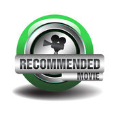 Recommended movie — Stock Vector