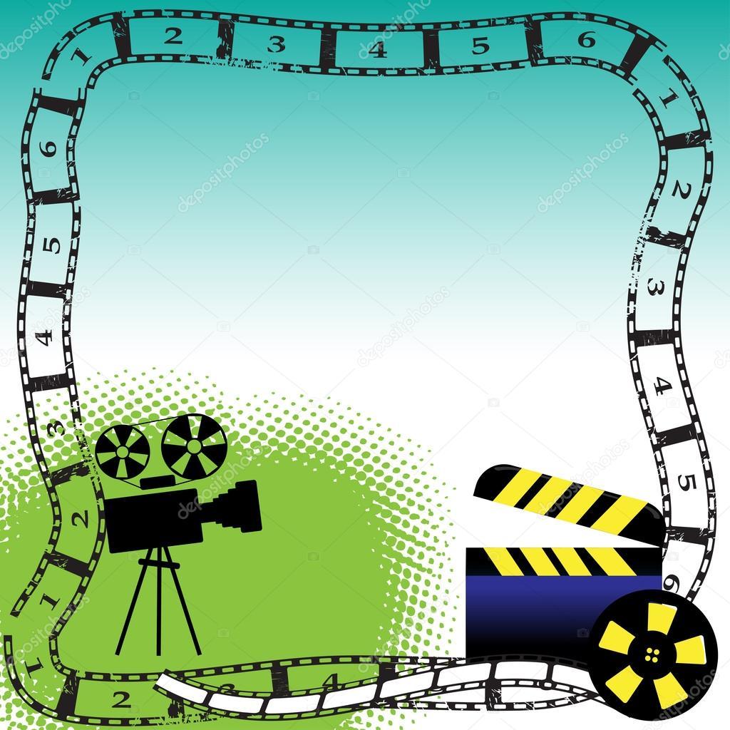 Рисунок кадра киноленты