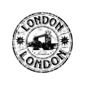 London grunge rubber stamp — Stock Vector