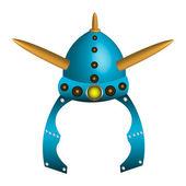 Viking helmet — Stock Vector
