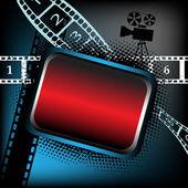 Cinema frame — Stock Vector