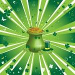 Golden pot — Stock Vector #39837339