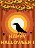 Happy Halloween — Stockvector