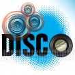 Disco — Stock Vector