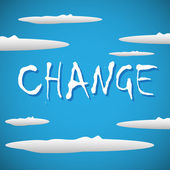 Change concept — Stock Vector