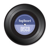 Disco vinyl record — Stock Vector