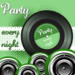 Party every night — Stock Vector #41103591