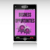 Opportunità di business — Vettoriale Stock