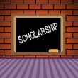 Stock Vector: Scholarship