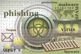 Virus concept — Stock Vector