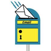 E-mail postvak — Stockvector