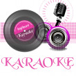Karaoke theme — Stock Vector #45841843