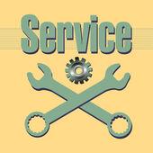 Servicio — Vector de stock