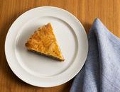 Sweet food dessert, cake in setting minimal — Stock Photo