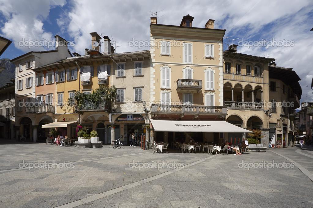 domodossola historische italienische stadt stockfoto 48838471. Black Bedroom Furniture Sets. Home Design Ideas