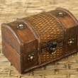 Foto Stock: Old chest