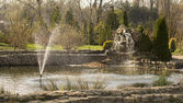 Une belle fontaine — Photo