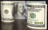Dollar notities — Stockfoto