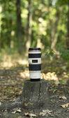 Canon lens — Stock Photo