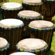 African drums — Stock Photo