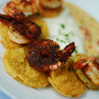 Shrimp and Grits — Stock Photo