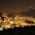 Rio de Janeiro at night — Stock Photo