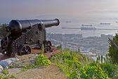 Stara armata w gibraltarze — Zdjęcie stockowe