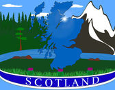 Scotland concept — Stock Vector