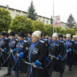 Victory parade in Pyatigorsk, Russia, on May 9 2009 — Stock Photo