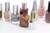 Colored nail polish — Stock Photo