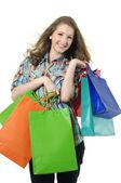 Shopping woman — Stockfoto