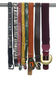 Display of fashion belts — Stock Photo