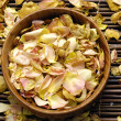 Bowl of rose petals — Stock Photo #22476131