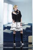 Beautiful fashion model — Stock Photo