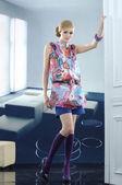 модель моды — Стоковое фото
