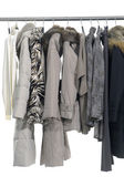 Clothing Rack Display — Stock Photo
