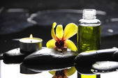 Tranquil spa scene — Stock Photo